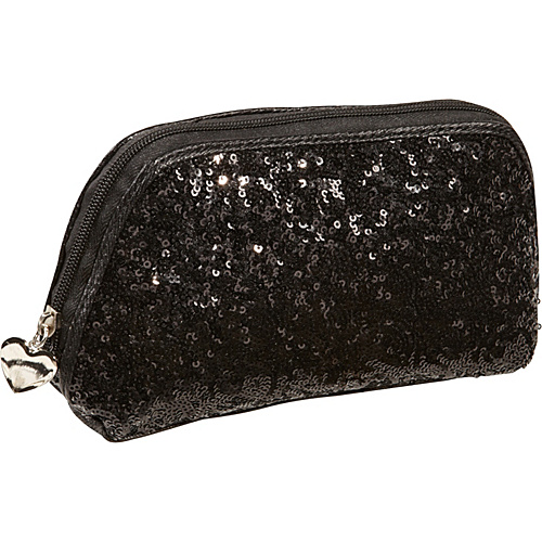 Nine West Handbags Flash Lite Cosmetic Case Black - Nine West Handbags Ladies Cosmetic Bags