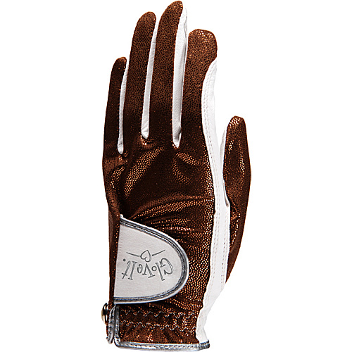 Glove It Bronze Bling Glove Bronze Left Hand Large - Glove It Golf Bags
