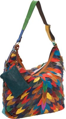 AmeriLeather Zoe Hobo Rainbow - AmeriLeather Leather Handbags