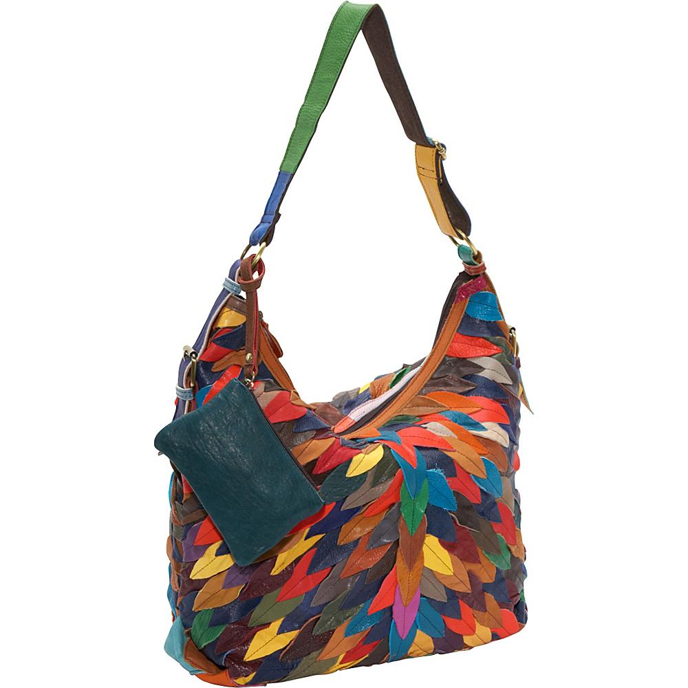 AmeriLeather Zoe Hobo Rainbow - AmeriLeather Leather Handbags - Handbags, Leather Handbags