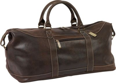 ClaireChase Arctic 20 inch Duffel Distressed Brown - ClaireChase Travel Duffels