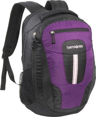 Samsonite Jacksonville Backpack Purple Lavendar Samsonite Laptop Backpacks