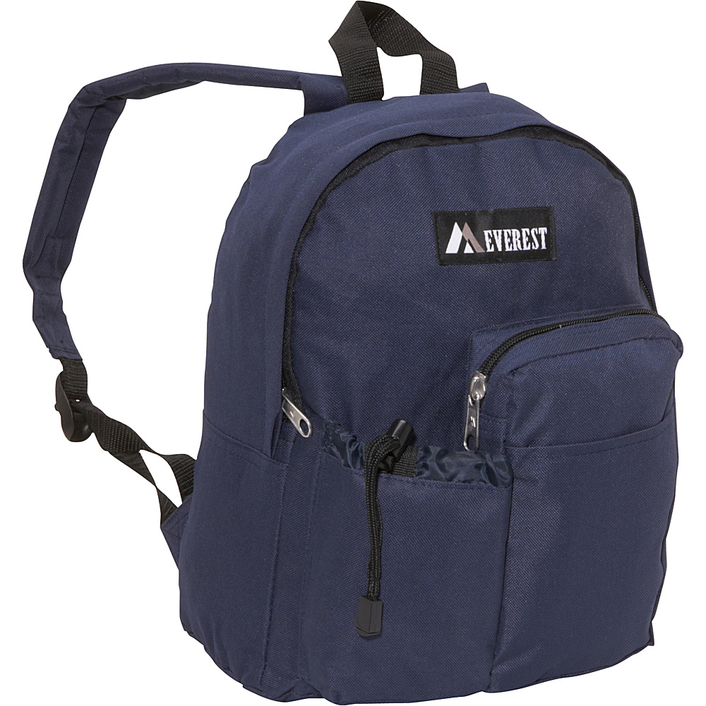 Everest Junior Backpack with Bottle Pocket Navy - Everest Everyday Backpacks