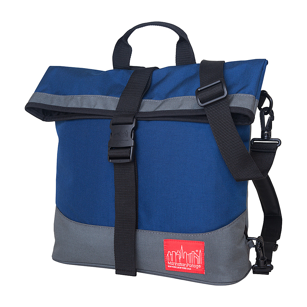 Manhattan Portage Double Dare Convertible Navy/Grey - Manhattan Portage Other Mens Bags - Work Bags & Briefcases, Other Men's Bags