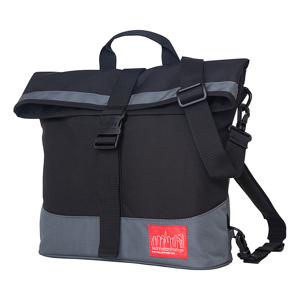 Manhattan Portage Double Dare Convertible Black, Grey - Manhattan Portage Other Mens Bags - Work Bags & Briefcases, Other Men's Bags