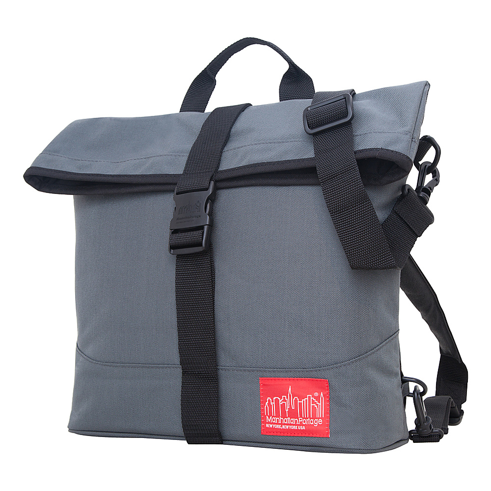 Manhattan Portage Double Dare Convertible Grey/Grey - Manhattan Portage Other Mens Bags - Work Bags & Briefcases, Other Men's Bags