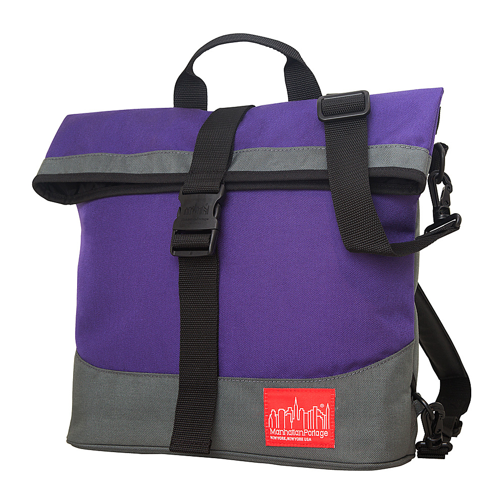 Manhattan Portage Double Dare Convertible Purple/Grey - Manhattan Portage Other Mens Bags - Work Bags & Briefcases, Other Men's Bags