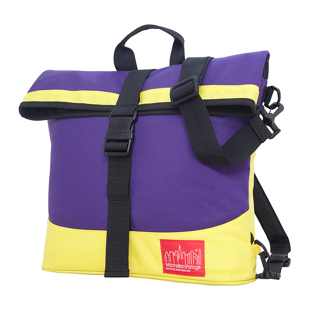 Manhattan Portage Double Dare Convertible Purple/Yellow - Manhattan Portage Other Mens Bags - Work Bags & Briefcases, Other Men's Bags