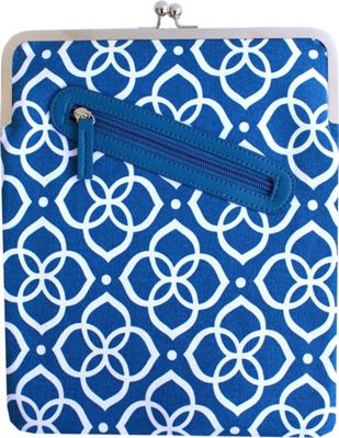 Kailo Chic iPad Clutch Blue Flower - Kailo Chic Electronic Cases 10246766