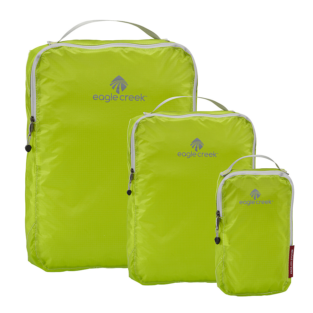 Eagle Creek Pack-It Specter 3-Piece Cube Set Strobe Green - Eagle Creek Travel Organizers