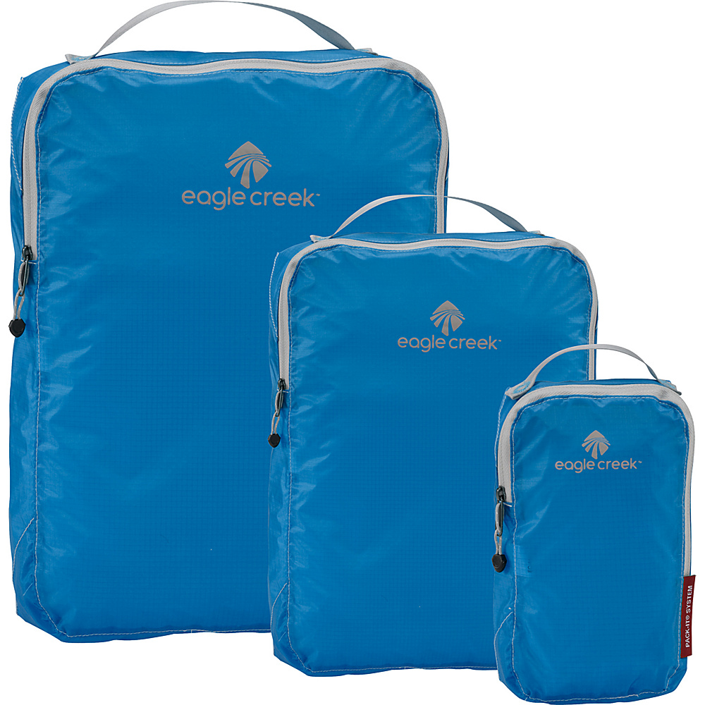 Eagle Creek Pack-It Specter 3-Piece Cube Set Brillant Blue - Eagle Creek Travel Organizers - Travel Accessories, Travel Organizers