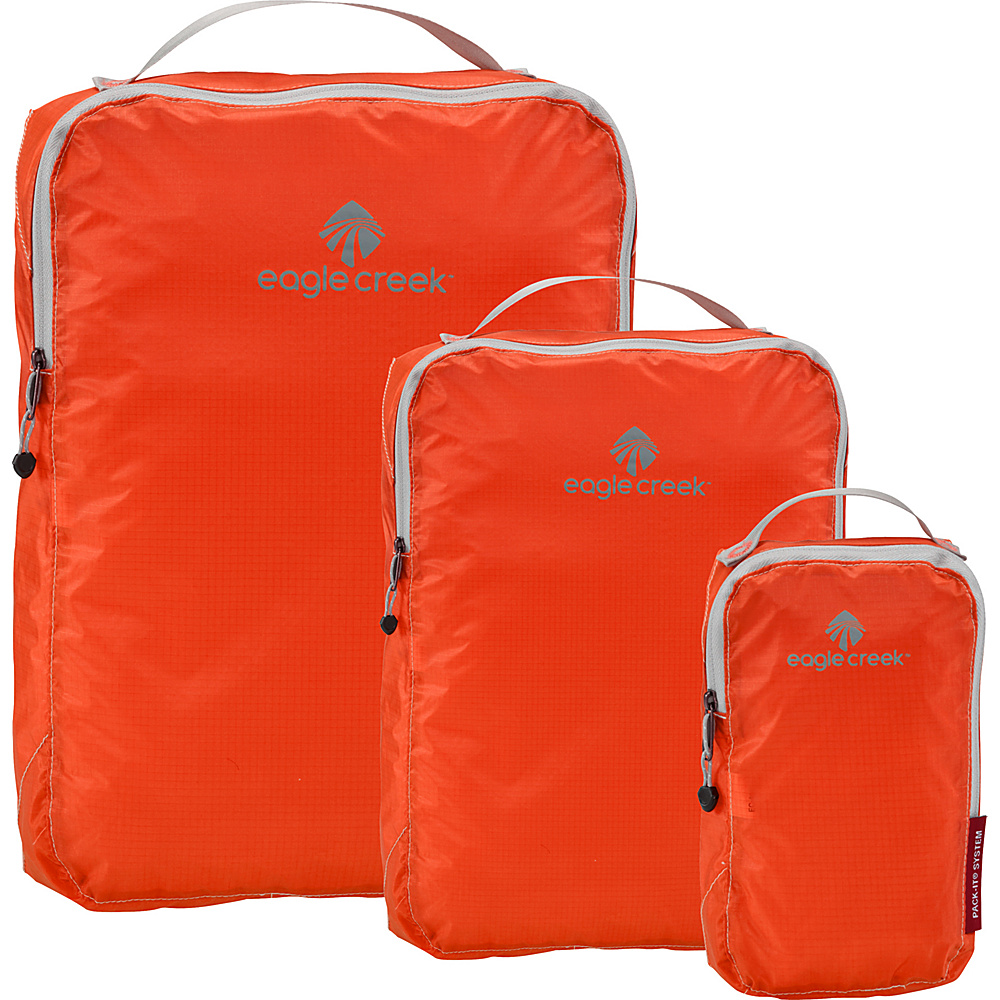Eagle Creek Pack-It Specter 3-Piece Cube Set Flame Orange - Eagle Creek Travel Organizers - Travel Accessories, Travel Organizers