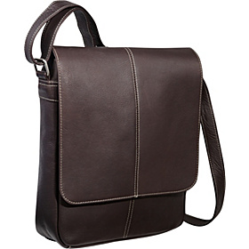 Flap Over E-Reader/iPad Bag Café