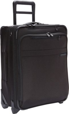 Briggs & Riley Briggs & Riley Baseline International Carry-On Wide Body Upright Black - Briggs & Riley Softside Carry-On