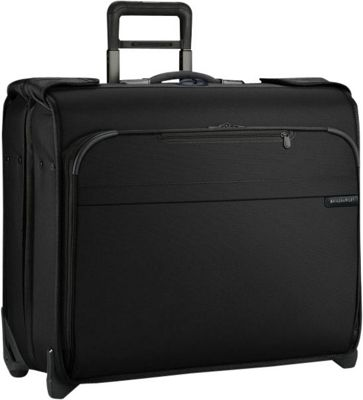 Briggs & Riley Baseline Deluxe Wheeled Garment Bag Black - Briggs & Riley Garment Bags