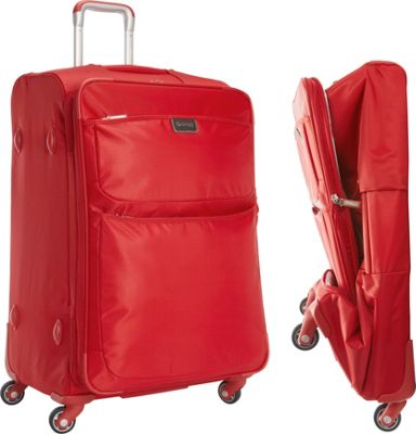 """Image of biaggi Contempo Foldable 28"""" Expandable Spinner Red - biaggi Large Rolling Luggage"""