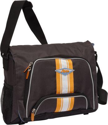 Hobie Hobie Surfrider Messenger Bag Grey - Hobie Messenger Bags