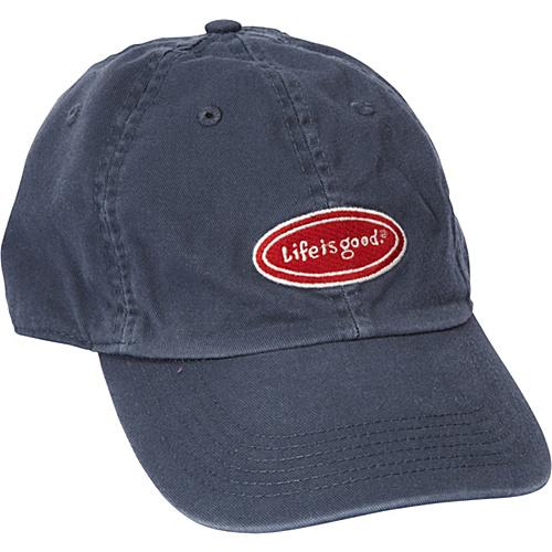 a3c6110f450 Life is good Men s Chill Cap Classic Oval True Blue - Life is good Hats (