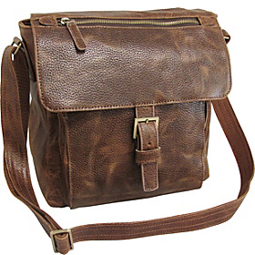 Finn Messenger Bag Brown