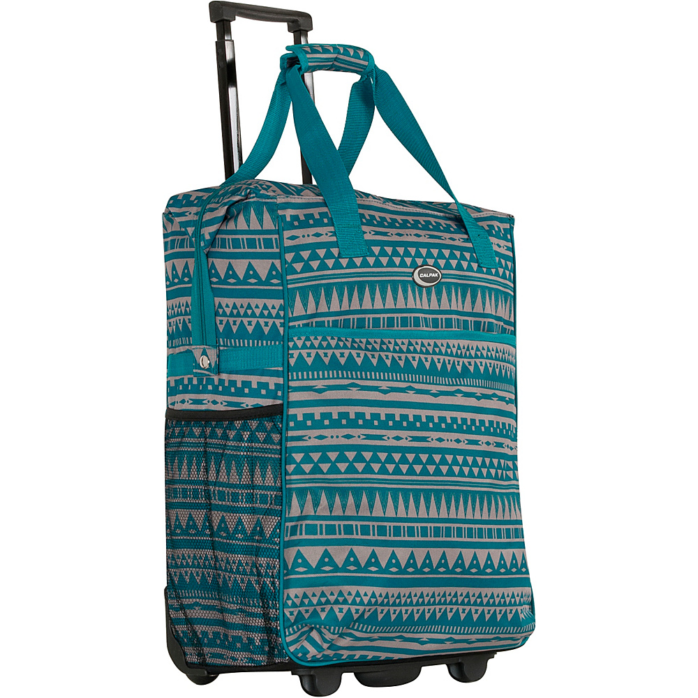 CalPak The Big Eazy 20 Rolling Tote Blue Rivera CalPak Luggage Totes and Satchels