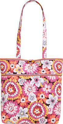Vera Bradley Tote Pixie Blooms - Vera Bradley Fabric Handbags