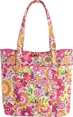 Vera Bradley Vera Tote Clementine - Vera Bradley Fabric Handbags