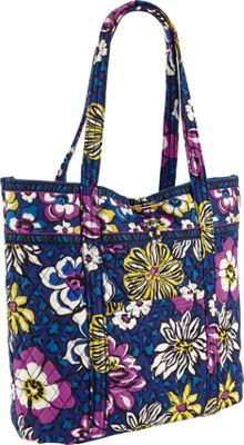 Vera Bradley Vera Tote African Violet - Vera Bradley Fabric Handbags
