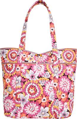 Vera Bradley Vera Tote Pixie Blooms - Vera Bradley Fabric Handbags