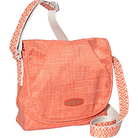 Emerson Bag (Cross Hatch) Hot Coral