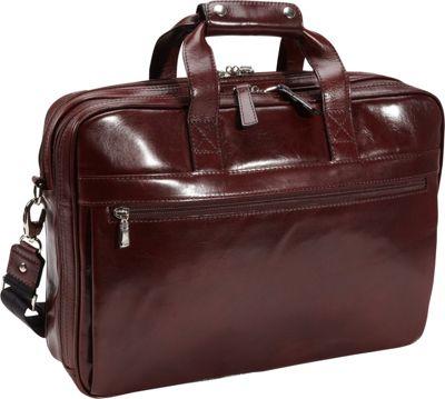 Bosca Old Leather Stringer Bag Dark Brown - Bosca Non-Wheeled Business Cases