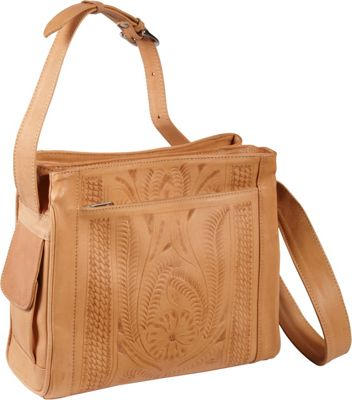 Ropin West Shoulder bag Natural - Ropin West Leather Handbags