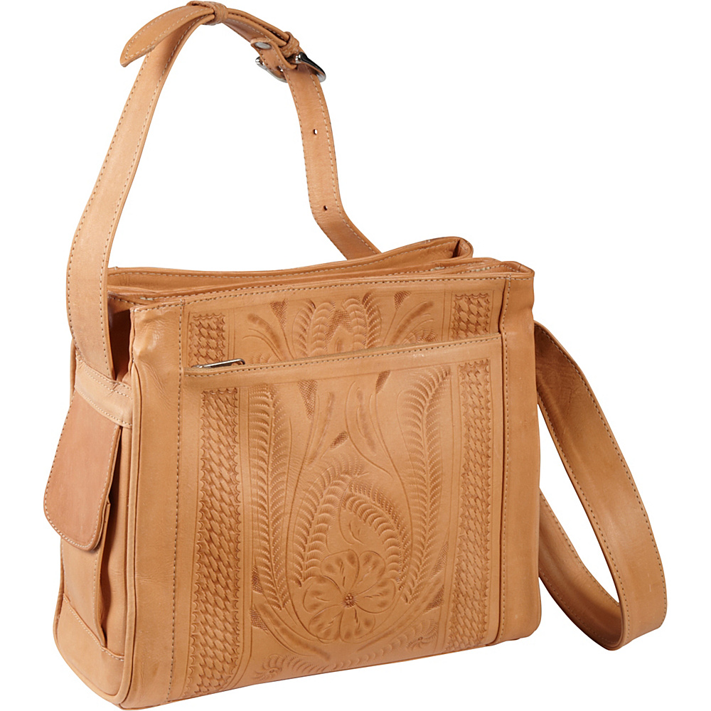 Ropin West Shoulder bag Natural Ropin West Leather Handbags