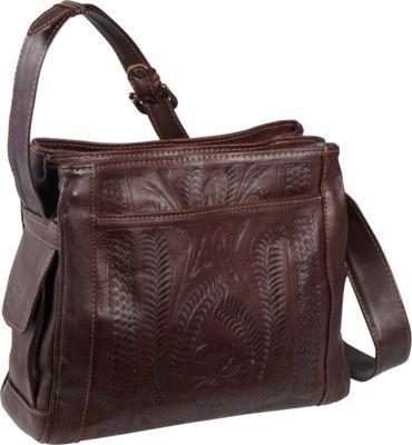Ropin West Shoulder bag Brown - Ropin West Leather Handbags
