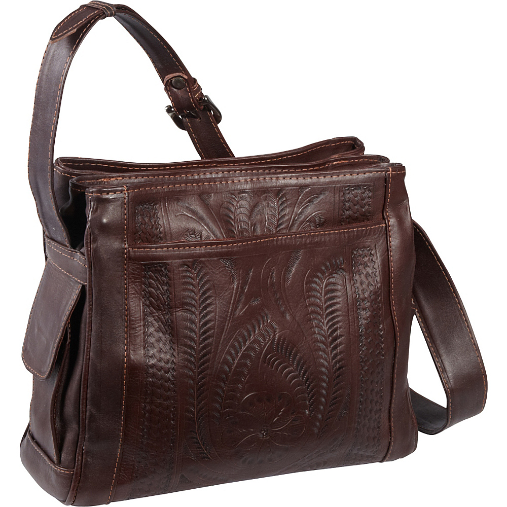 Ropin West Shoulder bag Brown Ropin West Leather Handbags
