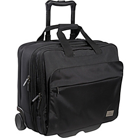 Werks Professional Officer 17'' Rolling Laptop Case Black