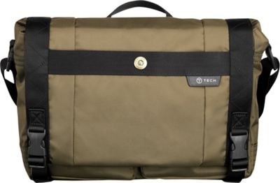 Tumi T-Tech Gateway Palermo Expandable Laptop Messenger Moss - Tumi Messenger Bags