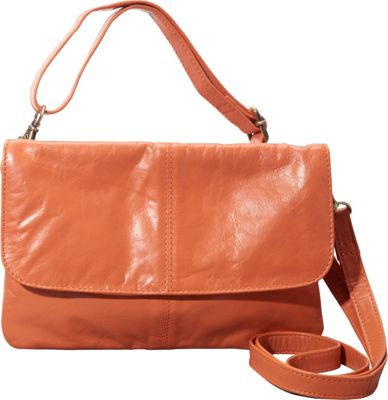 Latico Leathers Lidia Crossbody Salmon - Latico Leathers Leather Handbags