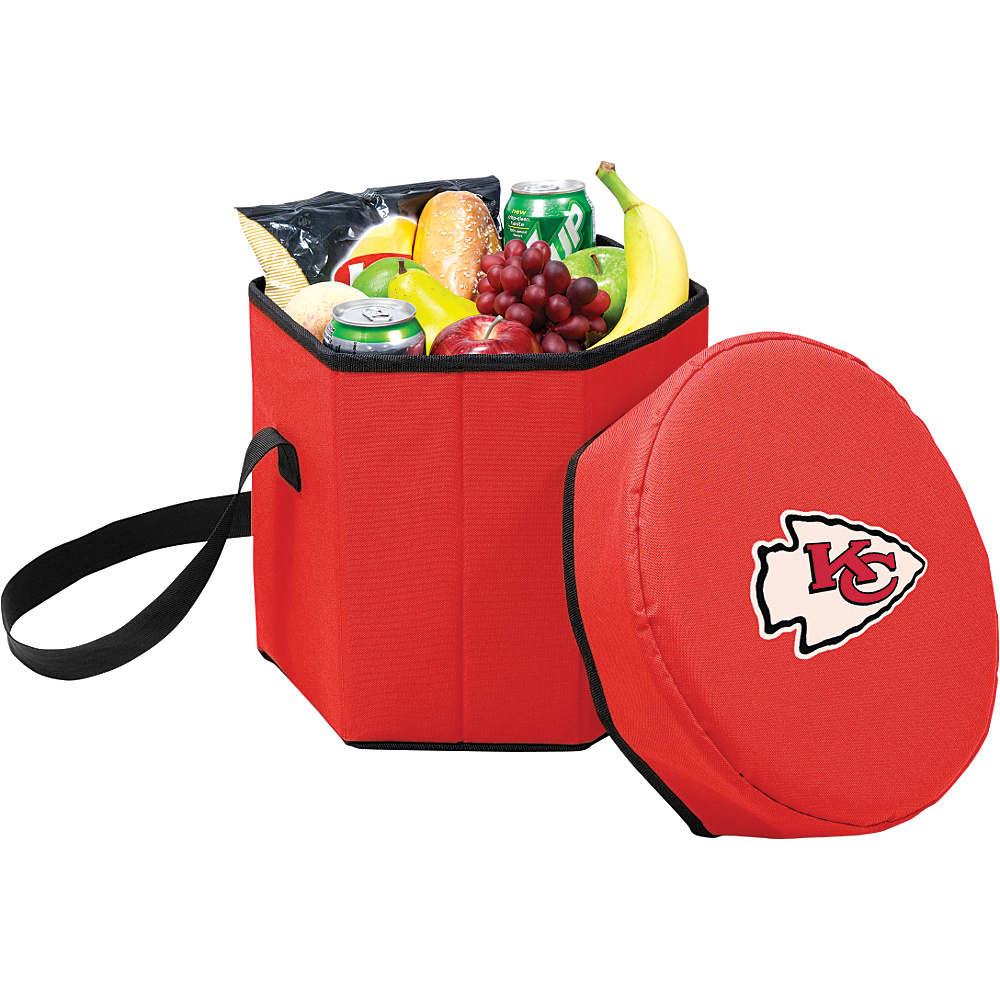 Picnic Time Kansas City Chiefs Bongo Cooler Kansas City Chiefs Red - Picnic Time Outdoor Coolers - Outdoor, Outdoor Coolers