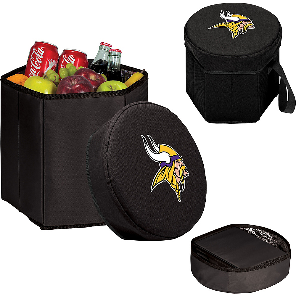 Picnic Time Minnesota Vikings Bongo Cooler Minnesota Vikings Black - Picnic Time Outdoor Coolers - Outdoor, Outdoor Coolers