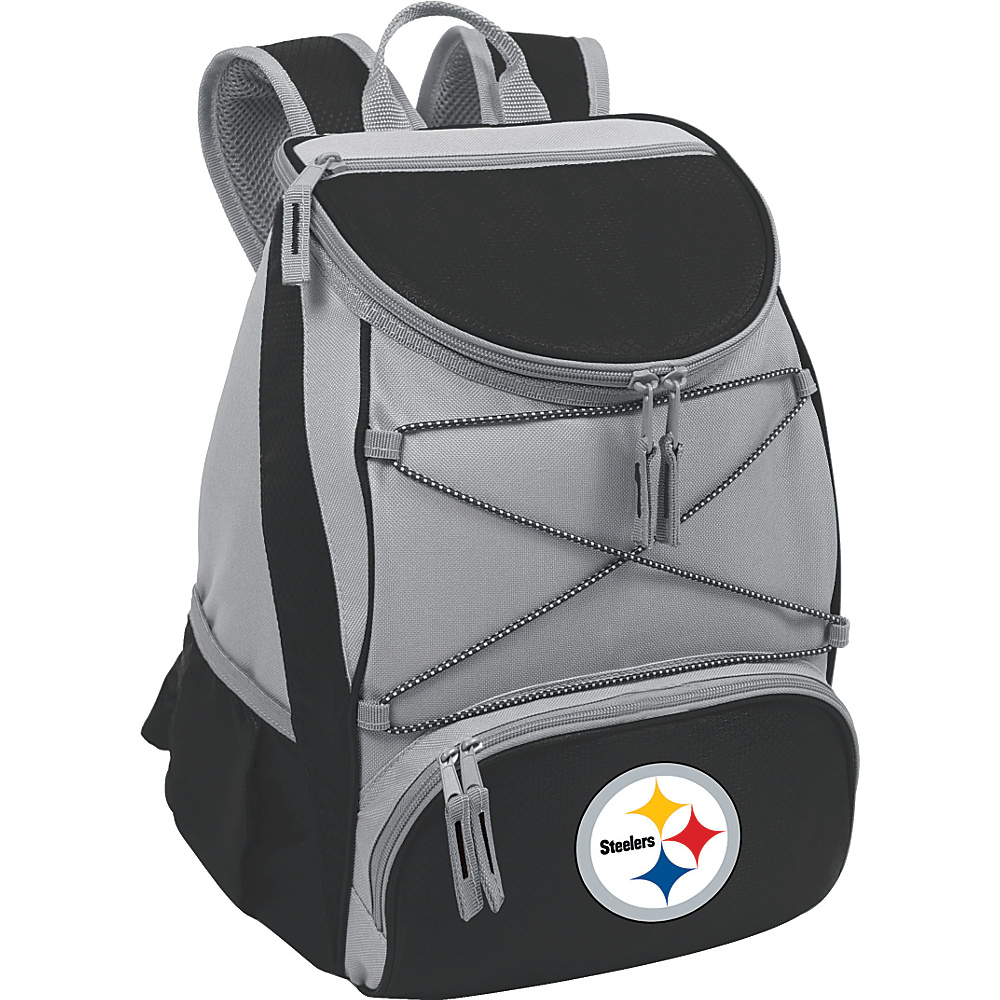 Picnic Time Pittsburgh Steelers PTX Cooler Pittsburgh Steelers Black - Picnic Time Outdoor Coolers - Outdoor, Outdoor Coolers