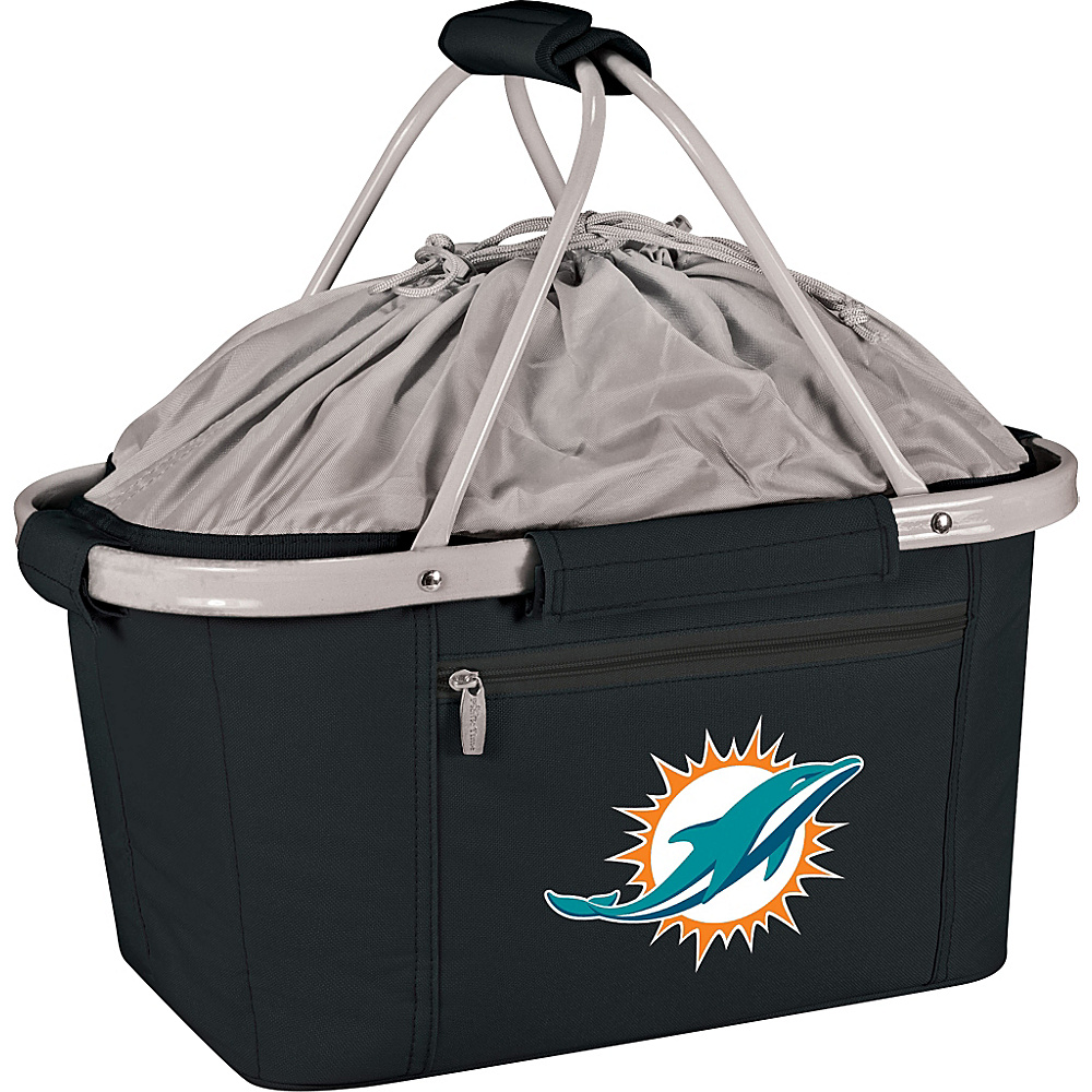 Picnic Time Miami Dolphins Metro Basket Miami Dolphins Black - Picnic Time Outdoor Coolers - Outdoor, Outdoor Coolers