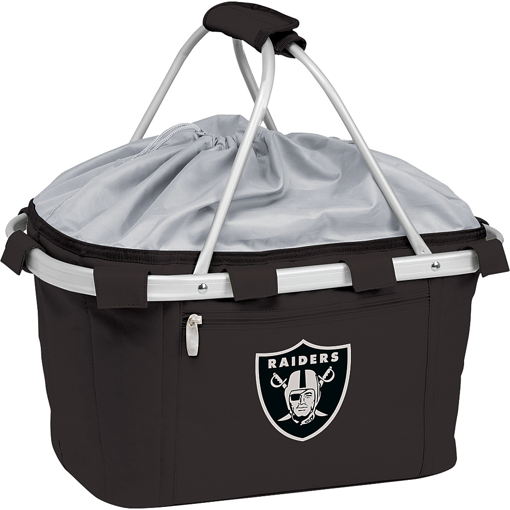 Picnic Time Oakland Raiders Metro Basket Oakland Raiders Black - Picnic Time Outdoor Coolers - Outdoor, Outdoor Coolers