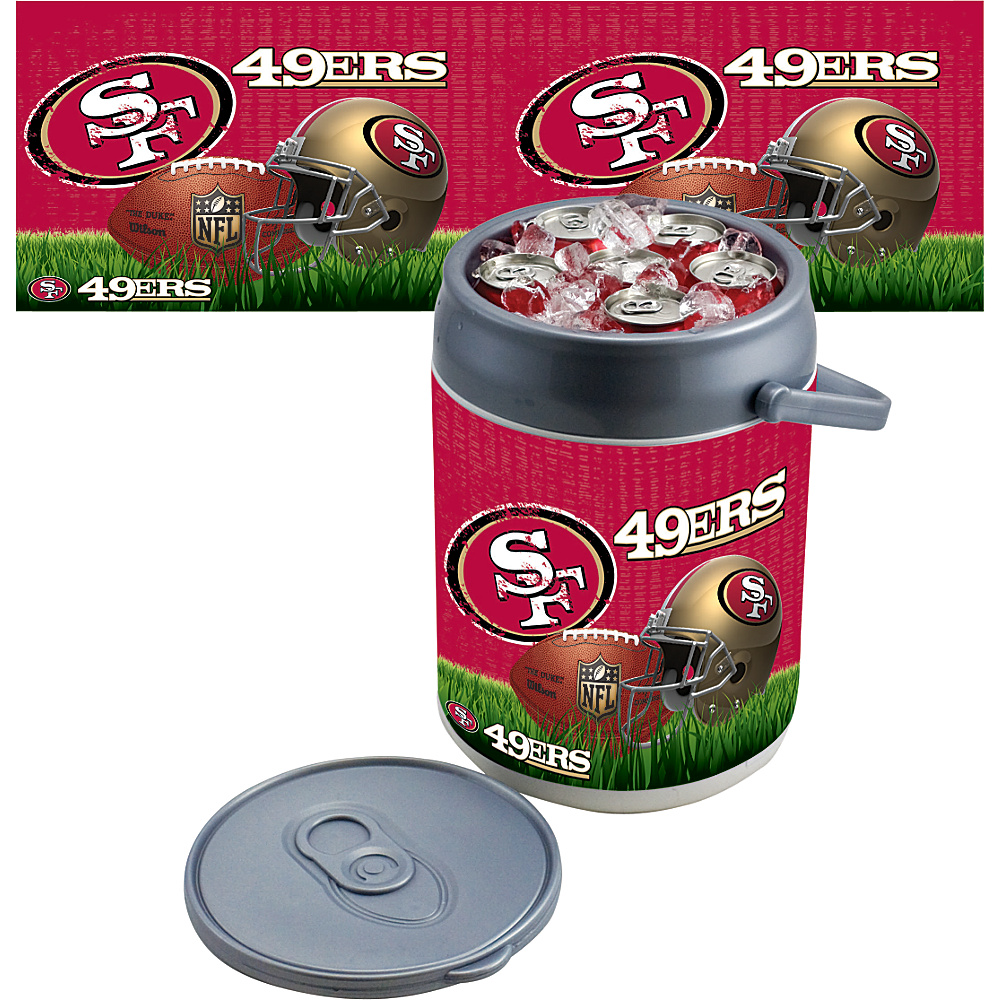 Picnic Time San Francisco 49ers Can Cooler San Francisco 49ers - Picnic Time Outdoor Coolers - Outdoor, Outdoor Coolers