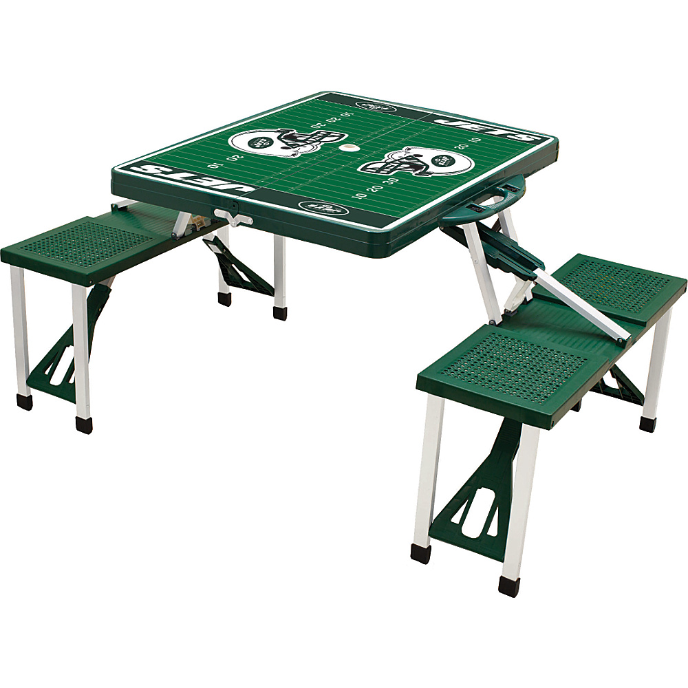 Picnic Time New York Jets Picnic Table Sport New York Jets Hunter - Picnic Time Outdoor Accessories - Outdoor, Outdoor Accessories