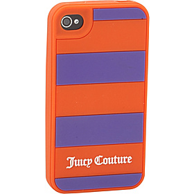 Rugby Stripe iPhone Case- 4/4S Winter Iris