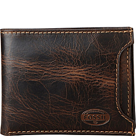 Norton Sliding 2 In 1 Wallet Brown