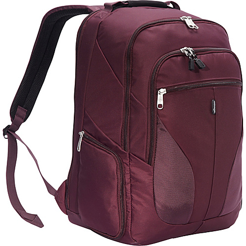 eBags eTech 2.0 Macroloader Laptop Backpack Plum - eBags Laptop Backpacks