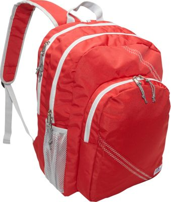 SailorBags Sailcloth Backpack Red - SailorBags Business & Laptop Backpacks