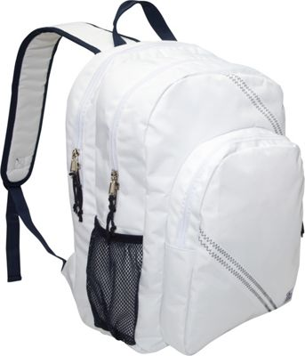 SailorBags Sailcloth Backpack White - SailorBags Business & Laptop Backpacks