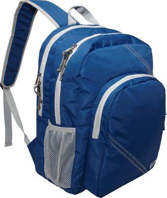 SailorBags Sailcloth Backpack Blue - SailorBags Business & Laptop Backpacks
